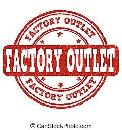 postzegel, fabriek, inbouwdoos