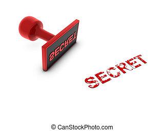 postzegel, geheim