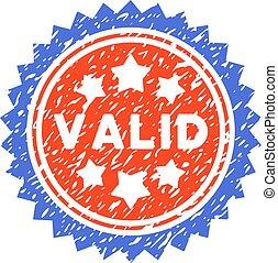 postzegel, geldig, grunge, vector