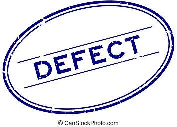 postzegel, grunge, ovaal, zeehondje, blauwe , rubber, achtergrond, woord, witte , mankement