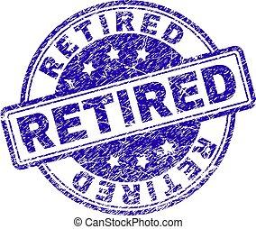postzegel, grunge, textured, gepensioneerd, zeehondje