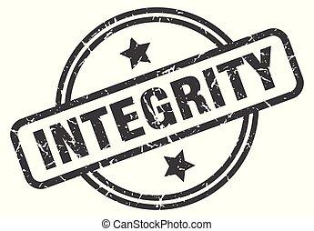 postzegel, integriteit