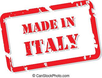 postzegel, italië