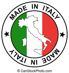 "postzegel, "", italië, gemaakt"