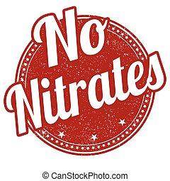 postzegel, nitrates, nee