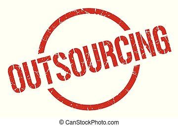 postzegel, outsourcing