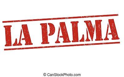 postzegel, palma, la