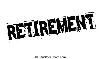 postzegel, pensioen, black