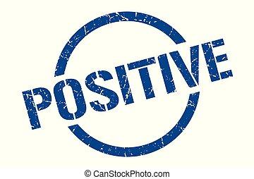 postzegel, positief