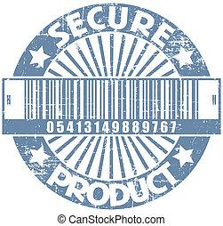 postzegel, product, bevestigen