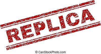 postzegel, reproductie, grunge, textured, zeehondje