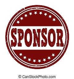 postzegel, sponsor