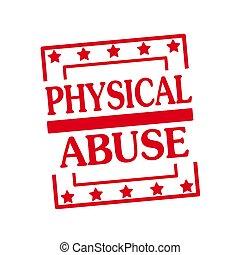 postzegel, tekst, misbruiken, achtergrond, witte , pleinen, rood, lichamelijk