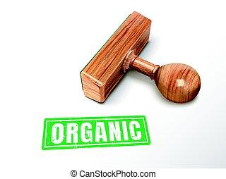 postzegel, tekst, organisch