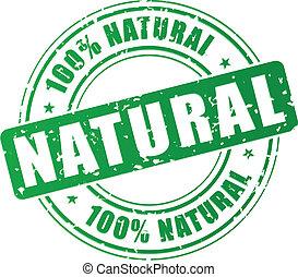postzegel, vector, natuurlijke