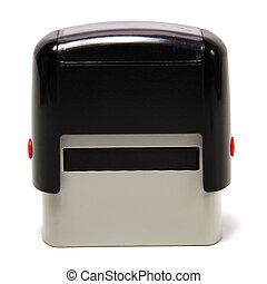 postzegel, vrijstaand, op wit, achtergrond
