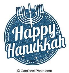postzegel, vrolijke , hanukkah