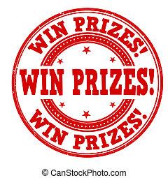 postzegel, winnen, prijzen