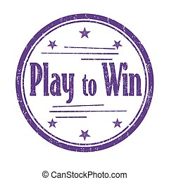 postzegel, winnen, toneelstuk, of, meldingsbord