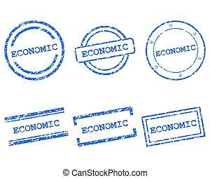 postzegels, economisch