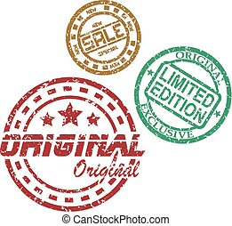 postzegels, ouderwetse , set, verkoop