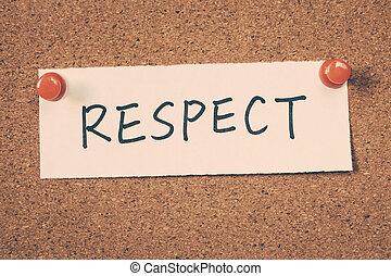 poszanowanie