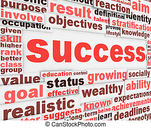 poszter, üzenet, tervezés, siker