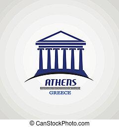 poszter, athéné