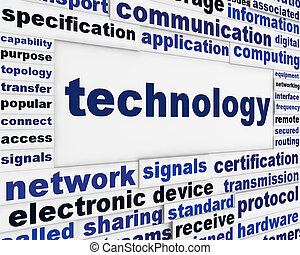 poszter, technológia, tervezés, kreatív