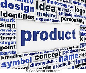 poszter, termék, szlogen, hirdetés tervezés
