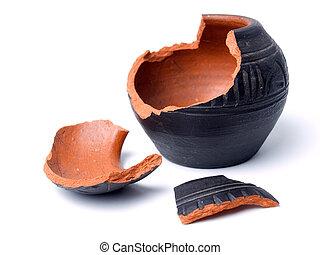pot, ancien