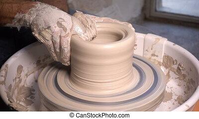 Pot Clay Decorative Art Workshop