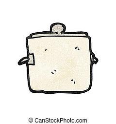 pot, cuisine, dessin animé