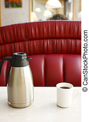pot, grande tasse café