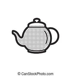 Pot Herbs and tea icon