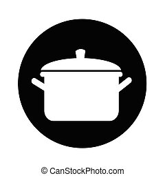 pot icon illustration design
