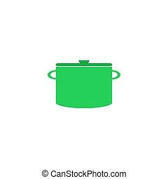Pot Icon Vector