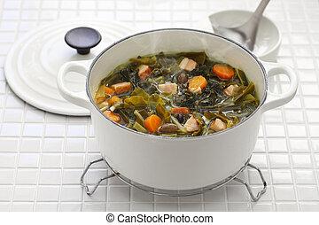 pot, likker, soep