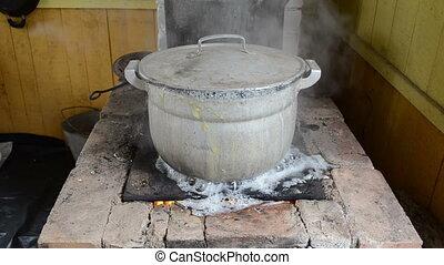 pot water boil flow speed