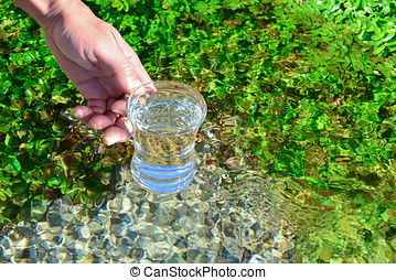 potable water from source