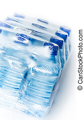 packed bottled water