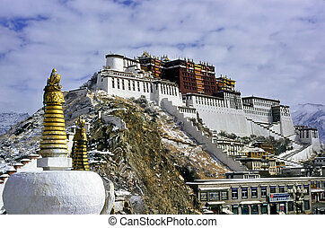 Potala Palace in Lhasa,Tibet