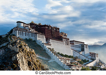 Potala Palace - Potala palace in Tibet, China. Photo taken ...