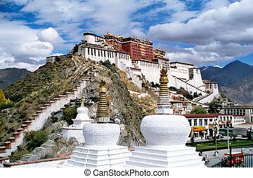 potala palace in Lhasa,Tibet