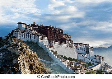 Potala Palace - Potala palace in Tibet, China. Photo taken...