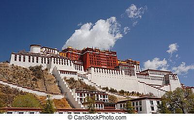 Potala palace, Tibet - Potala palace in Lhasa, Tibet