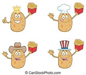 Potato Character 2. Collection Set