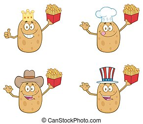 Potato Character 2. Collection Set