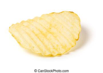 Potato Chip close up shot