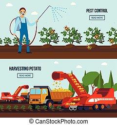 Potato Cultivation Flat Compositions